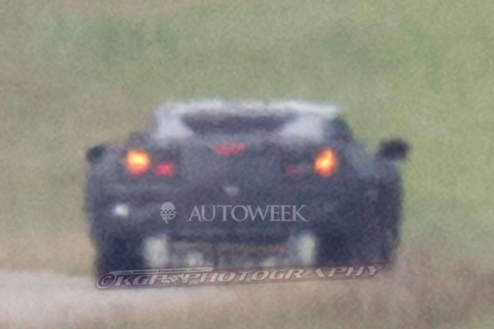 C8 Corvette Spy Photo
