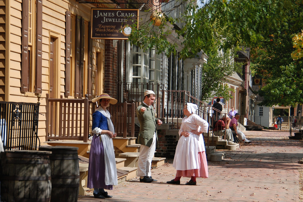 Colonial National Historic Parkway Virginia