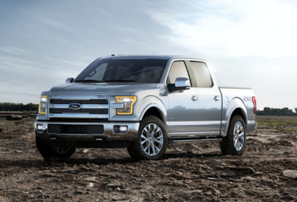 Aluminum body Ford F-150