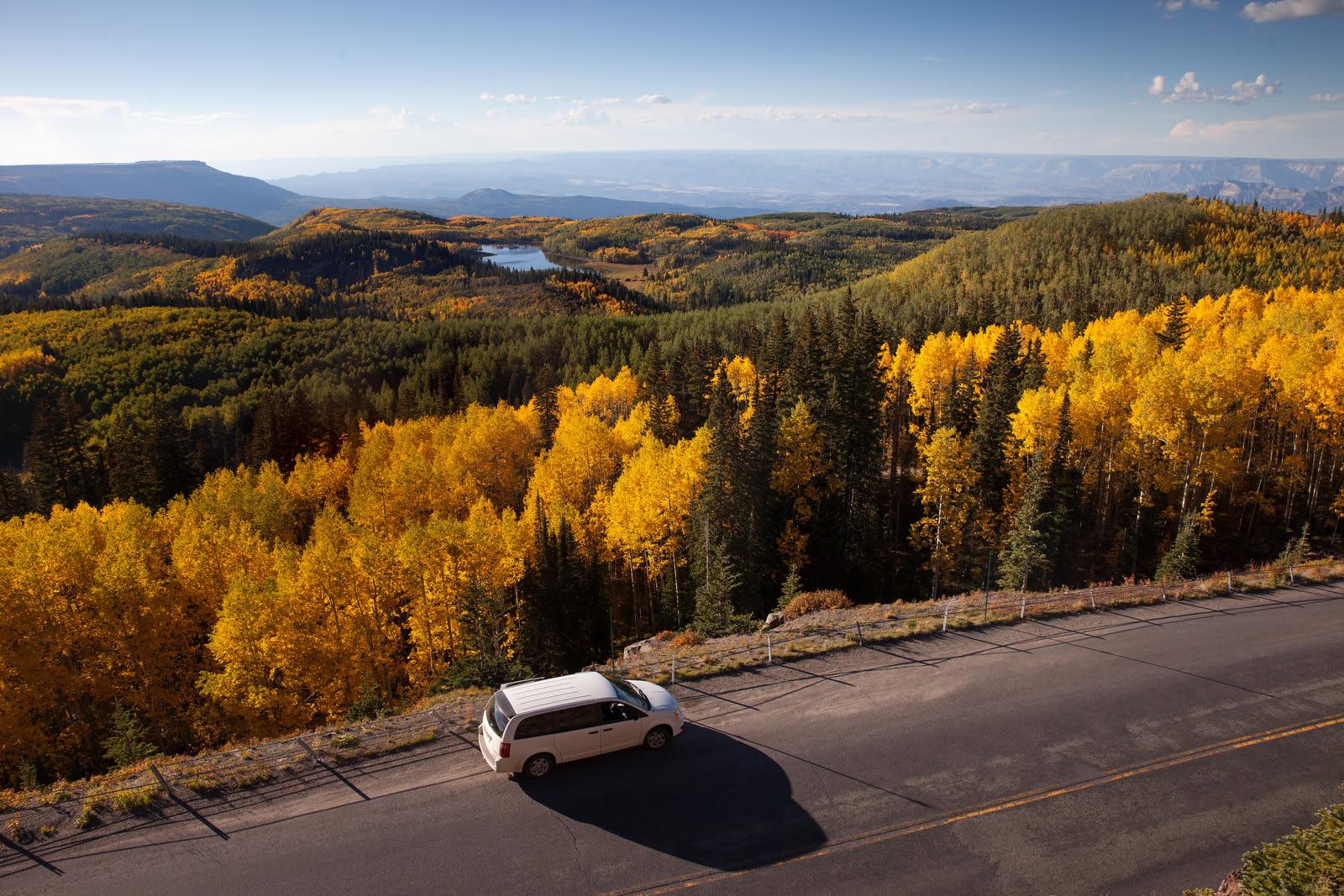 Grand Mesa Scenic Byway Colorado