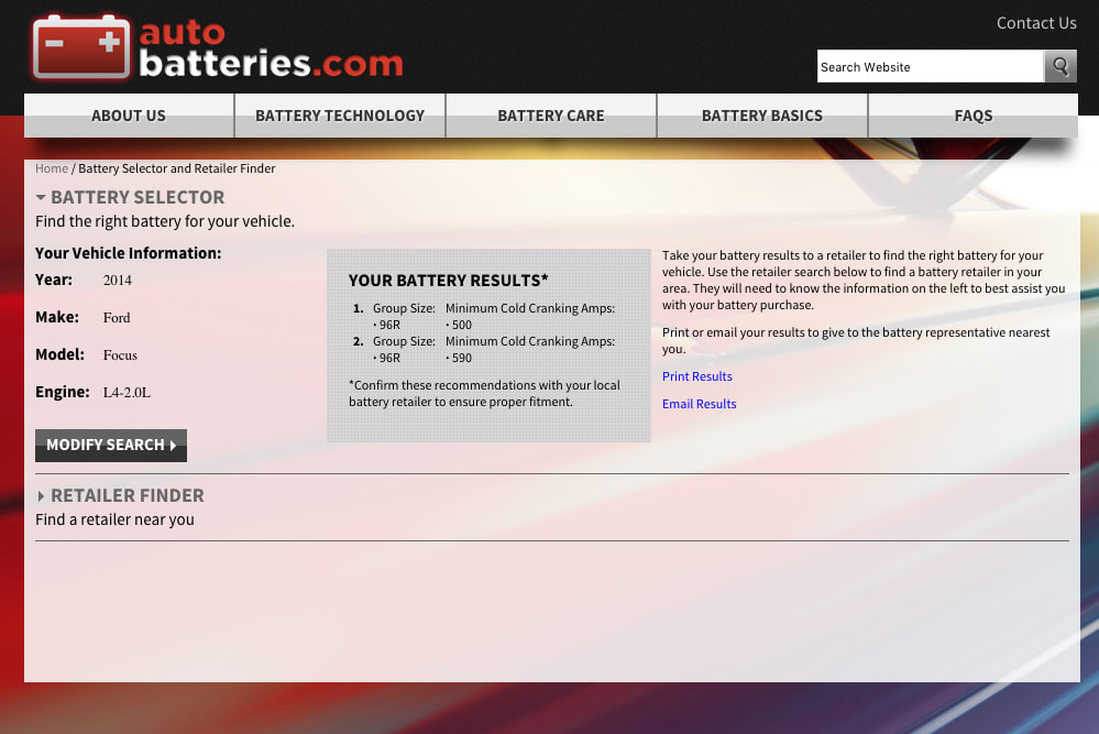 picture of autobatteries site