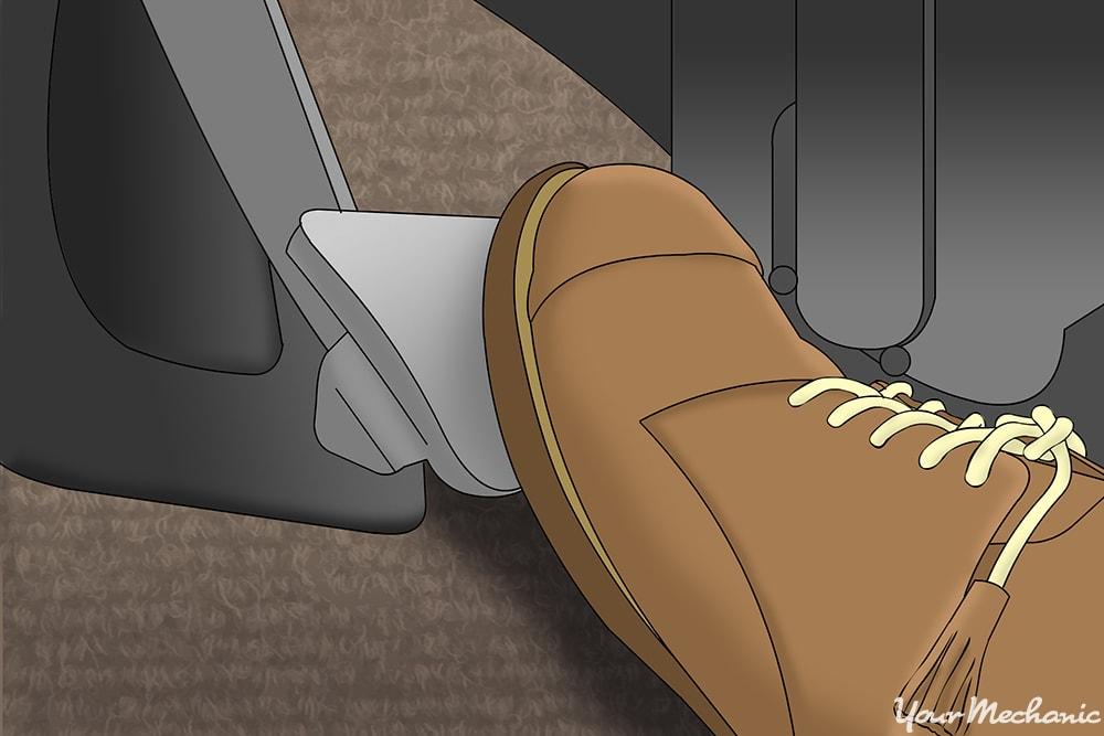pumping the brake pedal