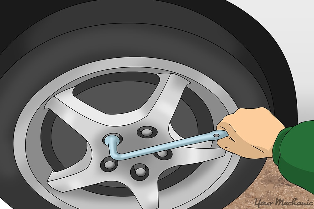 tightening lug nuts