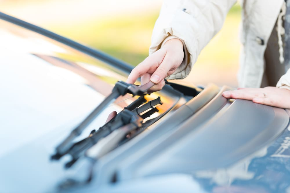 How to Clean Windshield Wiper Blades | YourMechanic Advice