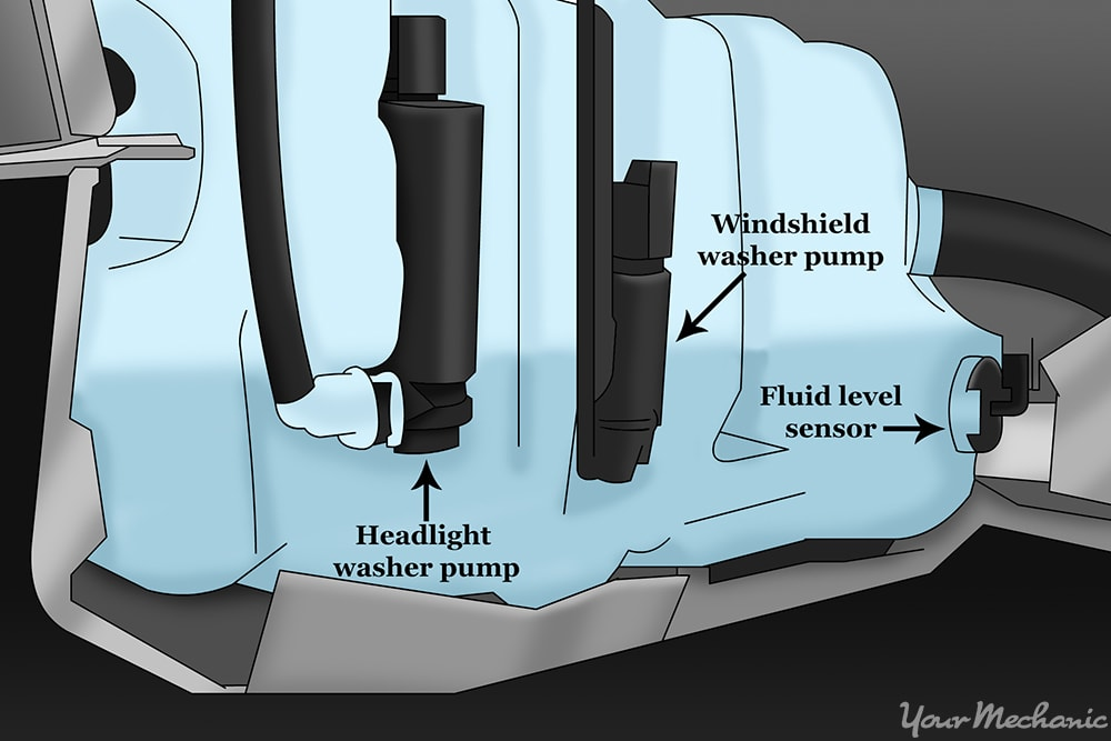 windshield wiper fluid pump