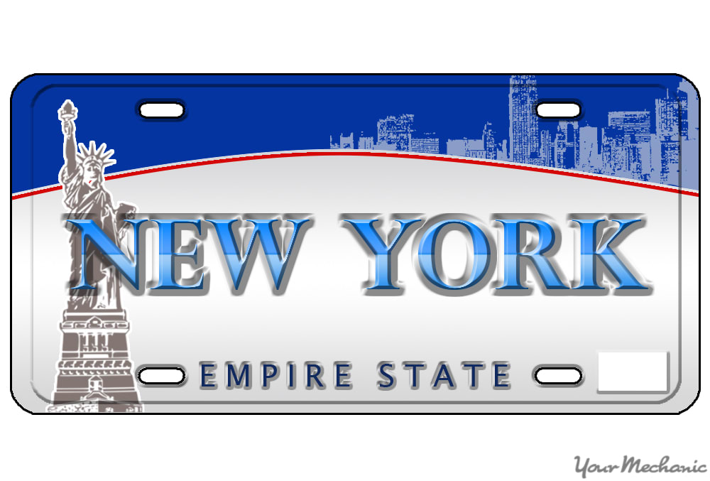 How to Buy a Personalized License Plate in New York