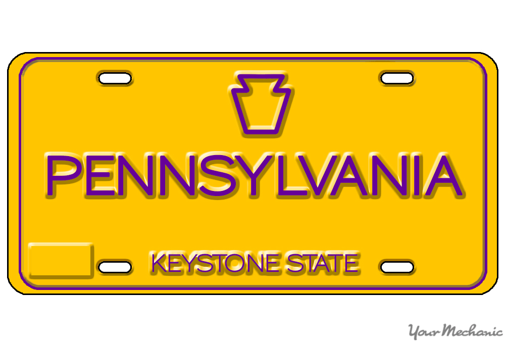 How To Buy A Personalized License Plate In Pennsylvania Yourmechanic Advice