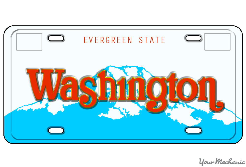 How to Buy a Personalized License Plate in Washington