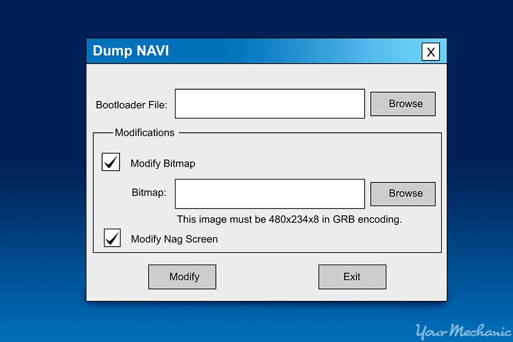 dumpnavi software