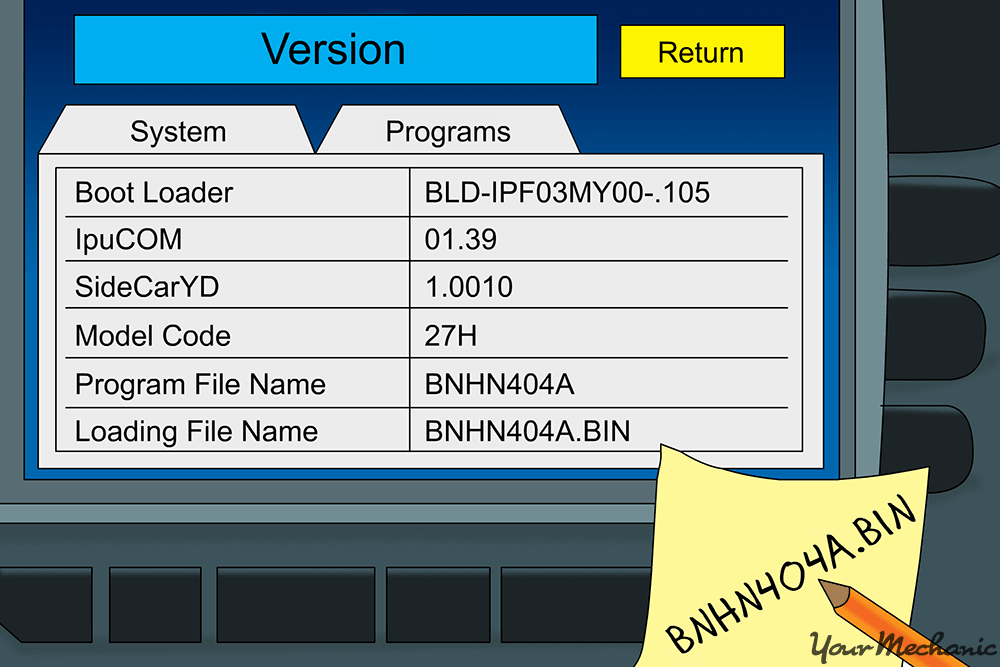 nav sytem loading screen