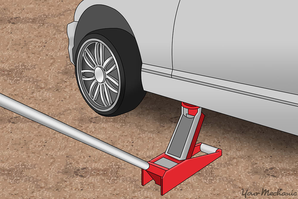 How To Properly Use A Floor Jack And Jack Stands Yourmechanic Advice