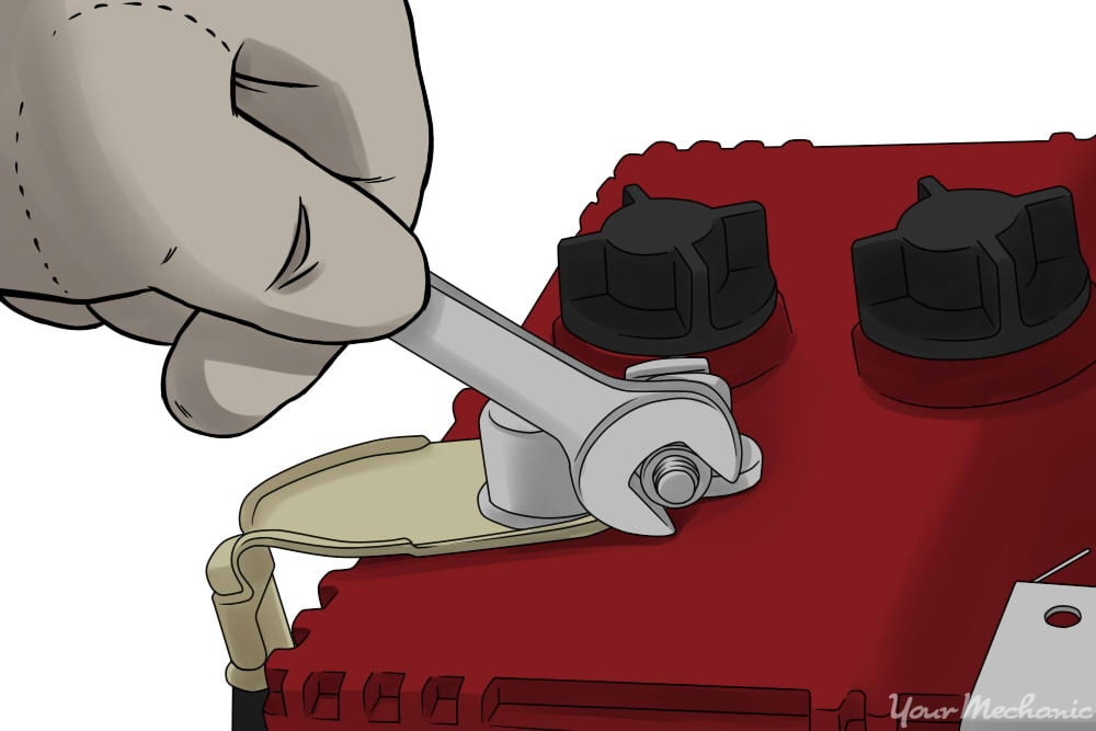 How to Remove a Car Battery | YourMechanic Advice