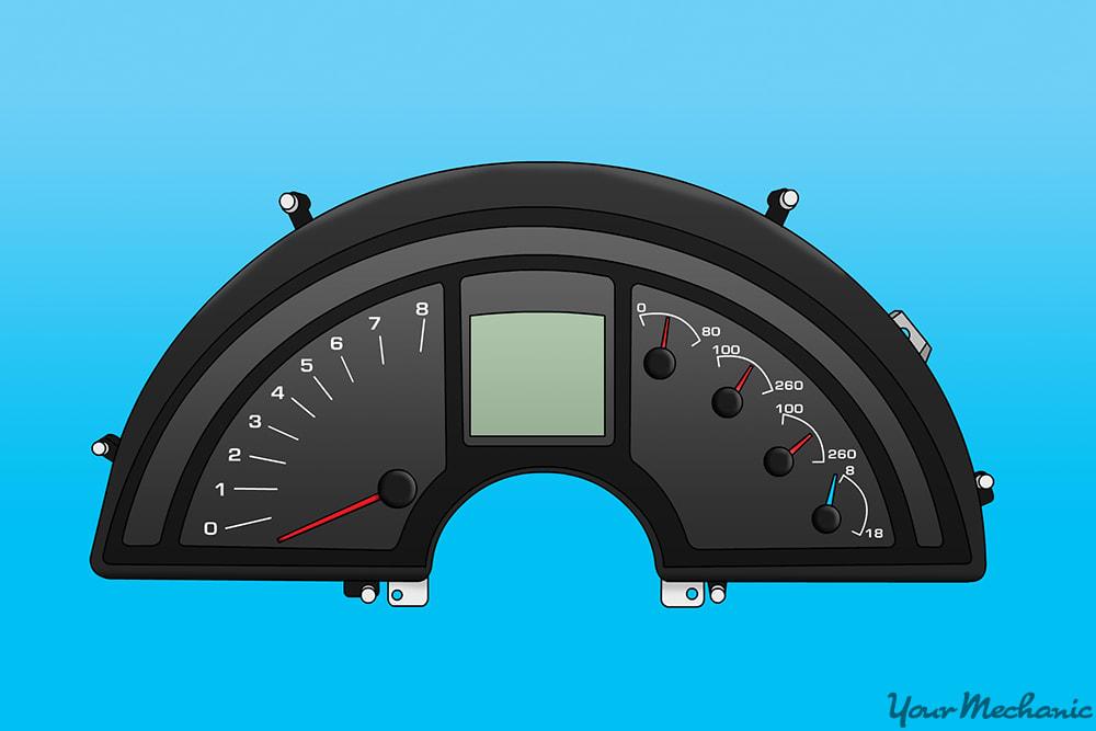 dash gauge cluster assembly