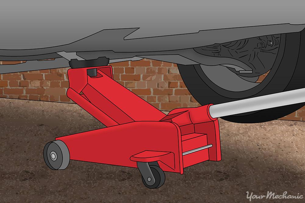 jack lifting vehicle up
