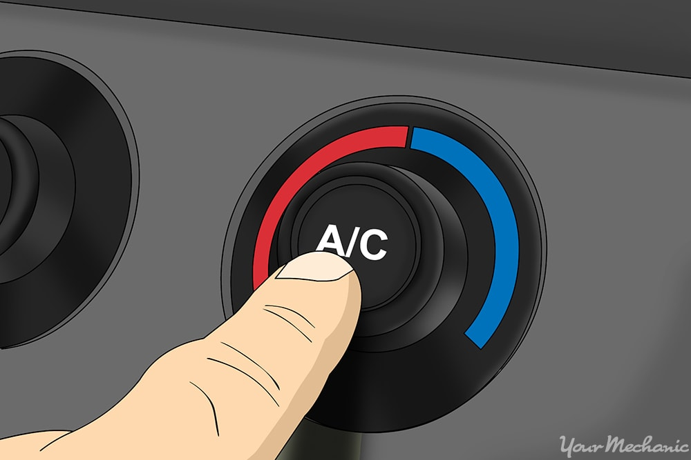turning on the AC