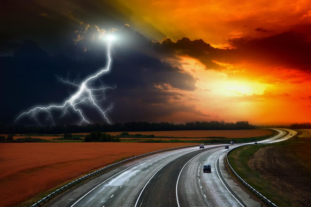 Is It Safe to Drive During Lightning?   YourMechanic Advice