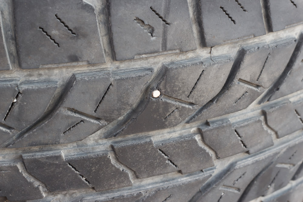 Is it Safe to Drive With a Nail in My Tire? | YourMechanic
