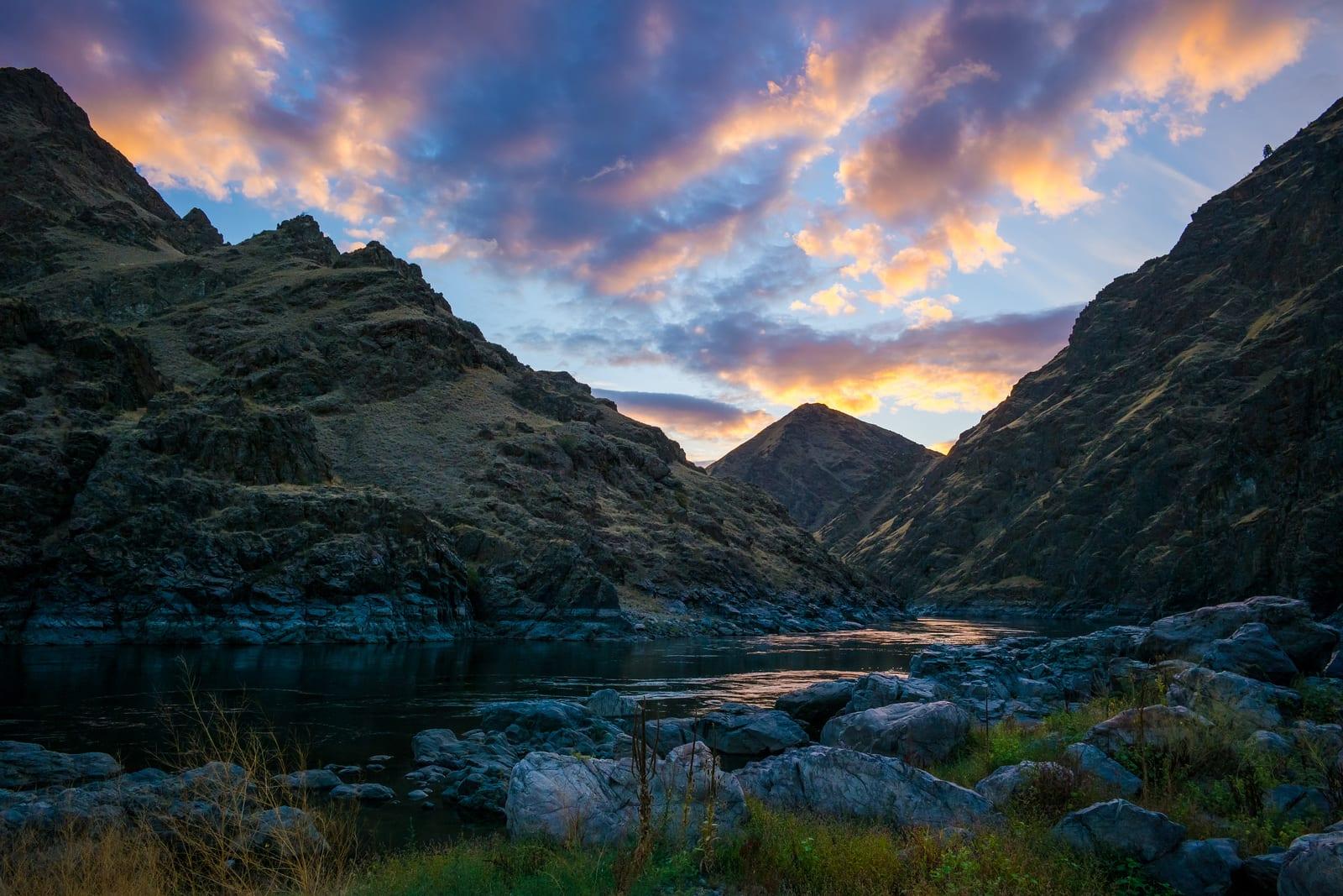 Seven Devils Mountains Idaho