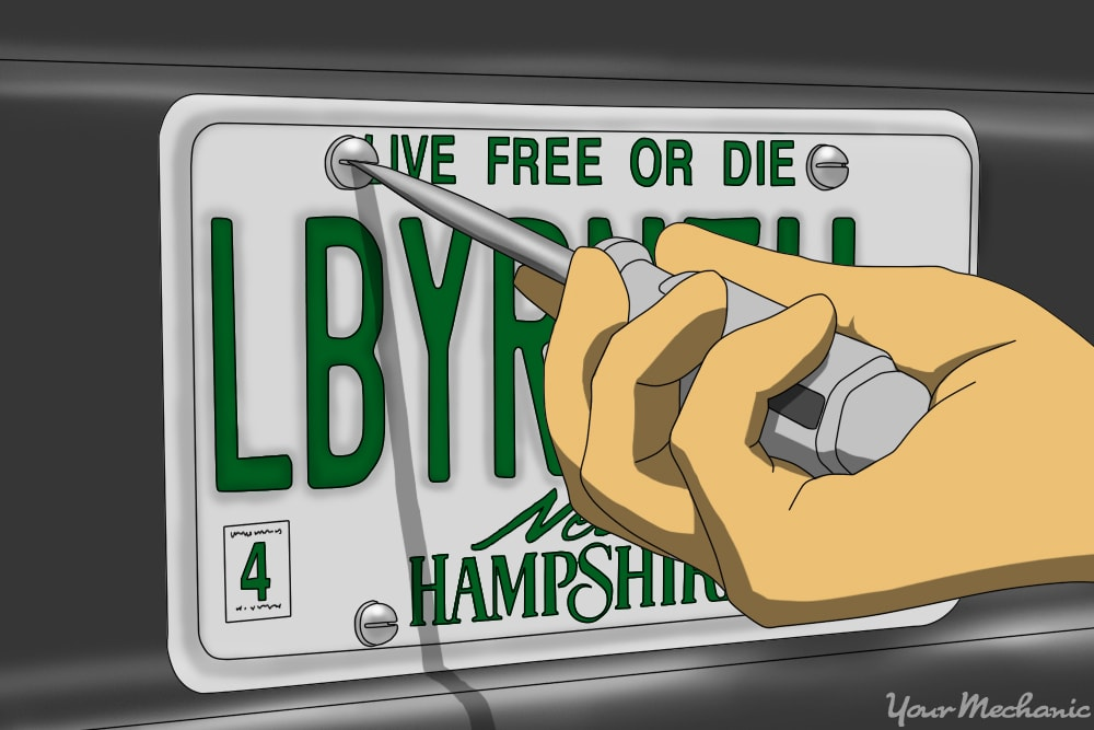 How to Transfer Your License Plate Number From Your Old Car