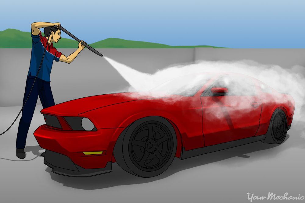 How to Clean Your Car with a Pressure Washer | YourMechanic