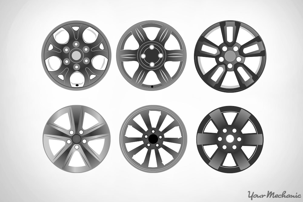 various kinds of wheel designs