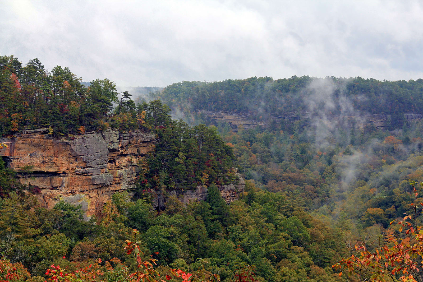 Red River Gorge Scenic Byway Kentucky