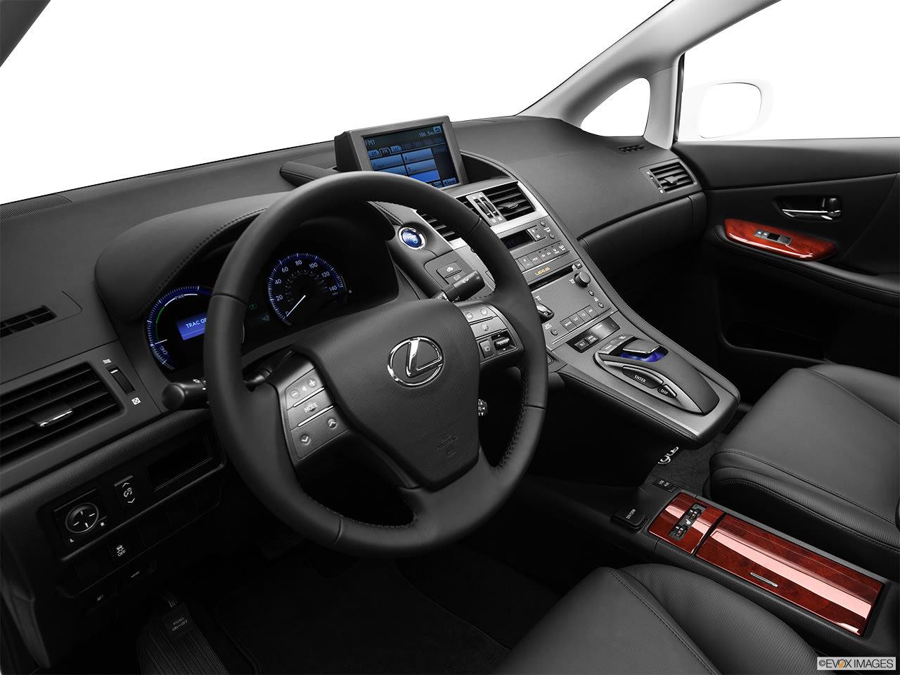 Lexus HS 250h 2012 Interior