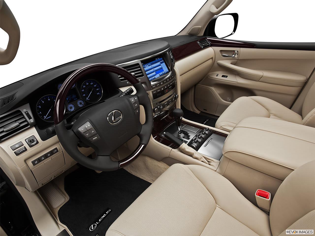 Lexus LX 570 2011 Interior