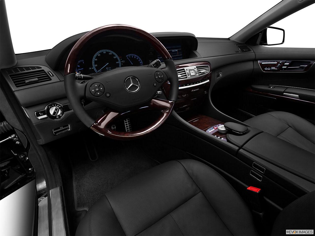 Mercedes benz CL 2012 interior