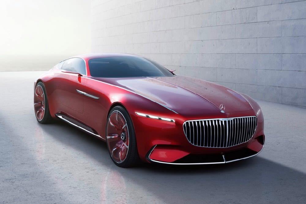 Vision Mercedes-Maybach Front