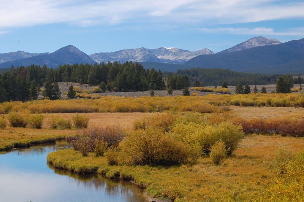 Mt. Haggin Scenic Drive Montana