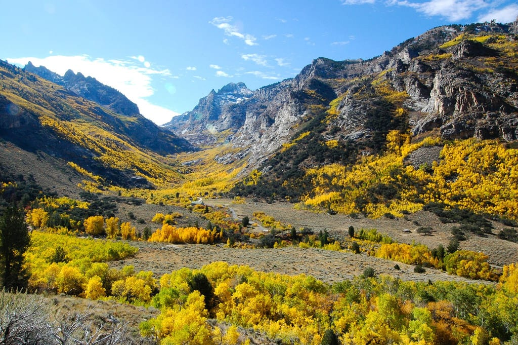 Lamoille Canyon Scenic Byway Nevada