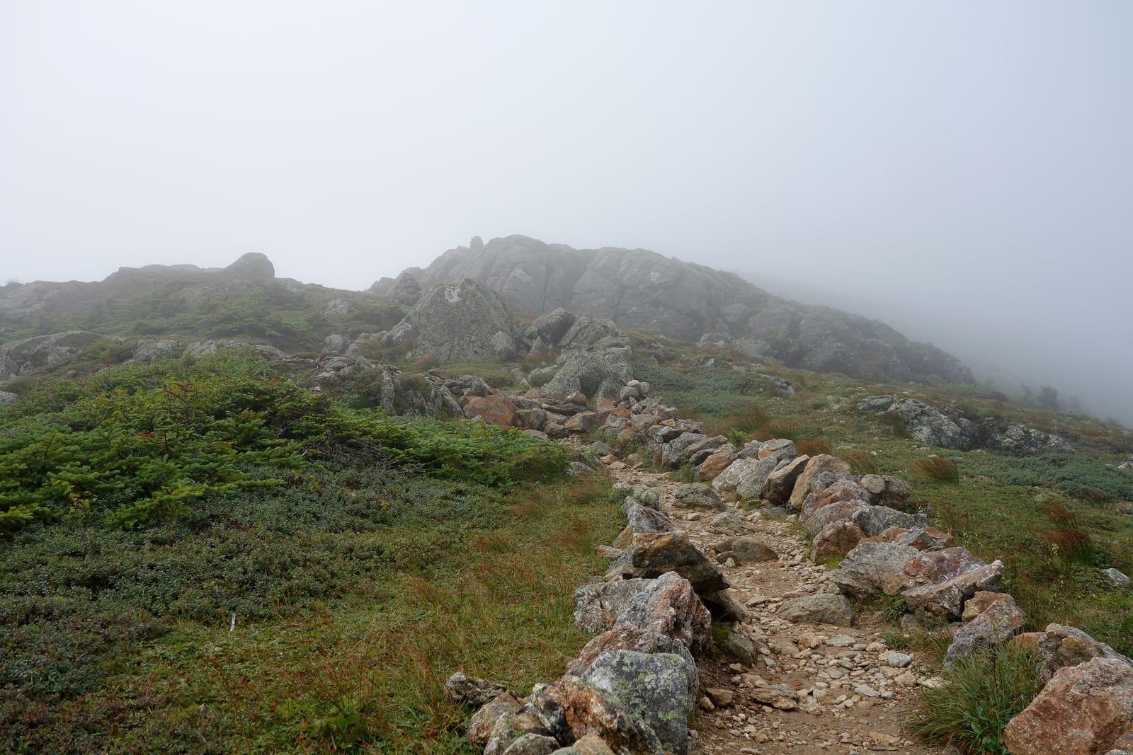 White Mountain Trail New Hampshire