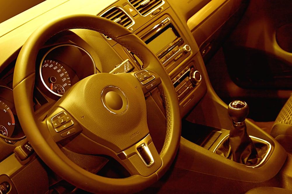 Non-Adjustable Steering Wheel