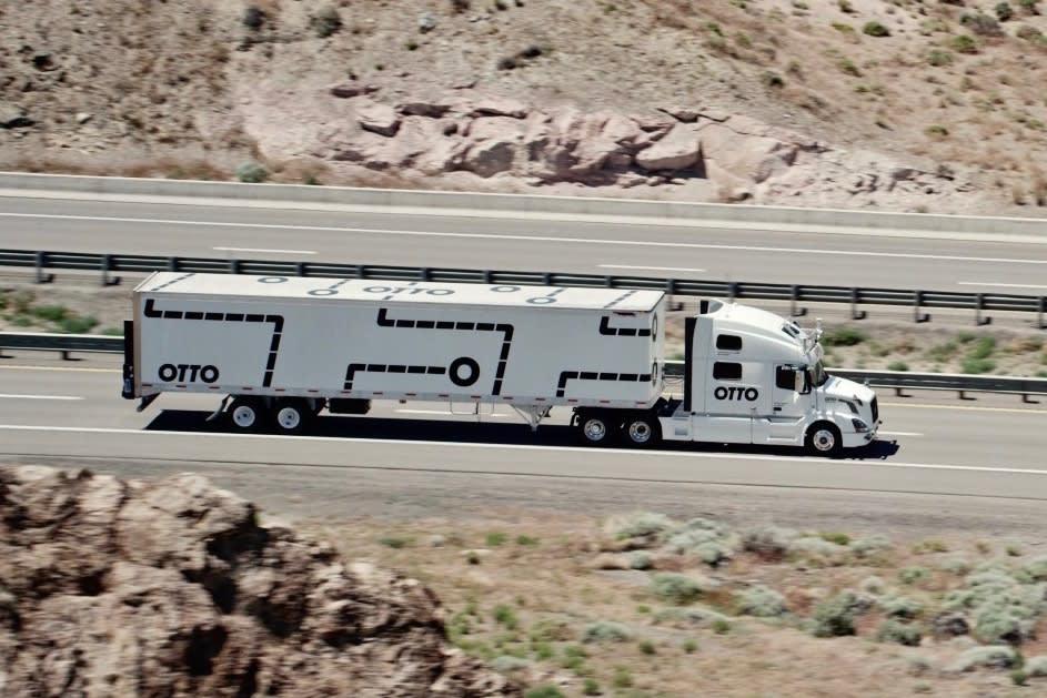 Otto Semi-Autonomous Truck