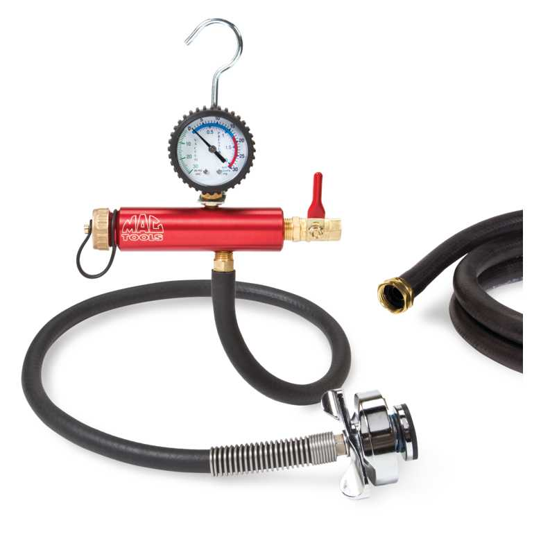 The Best Tool to Find Coolant Leaks - coolant pressure tester