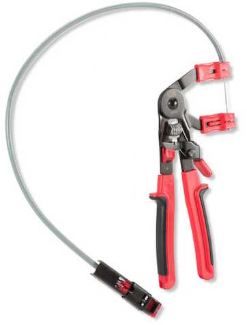 The Best Tool to Reach Hose Clamps - remote access hose clamp pliers