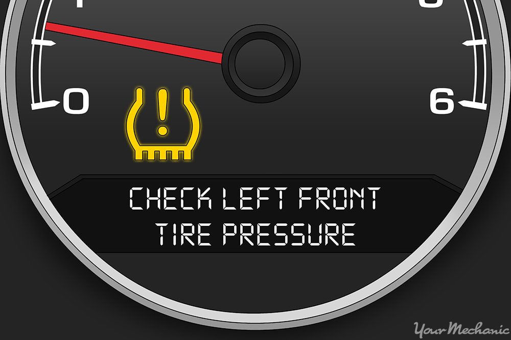 Tire Pressure Light >> What Does The Tire Pressure Warning Light Mean