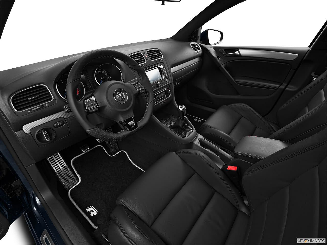 Volkswagen Golf R 2012 Interior