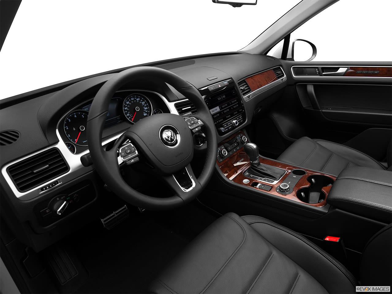 Volkswagen Touareg Hybrid 2012 Interior