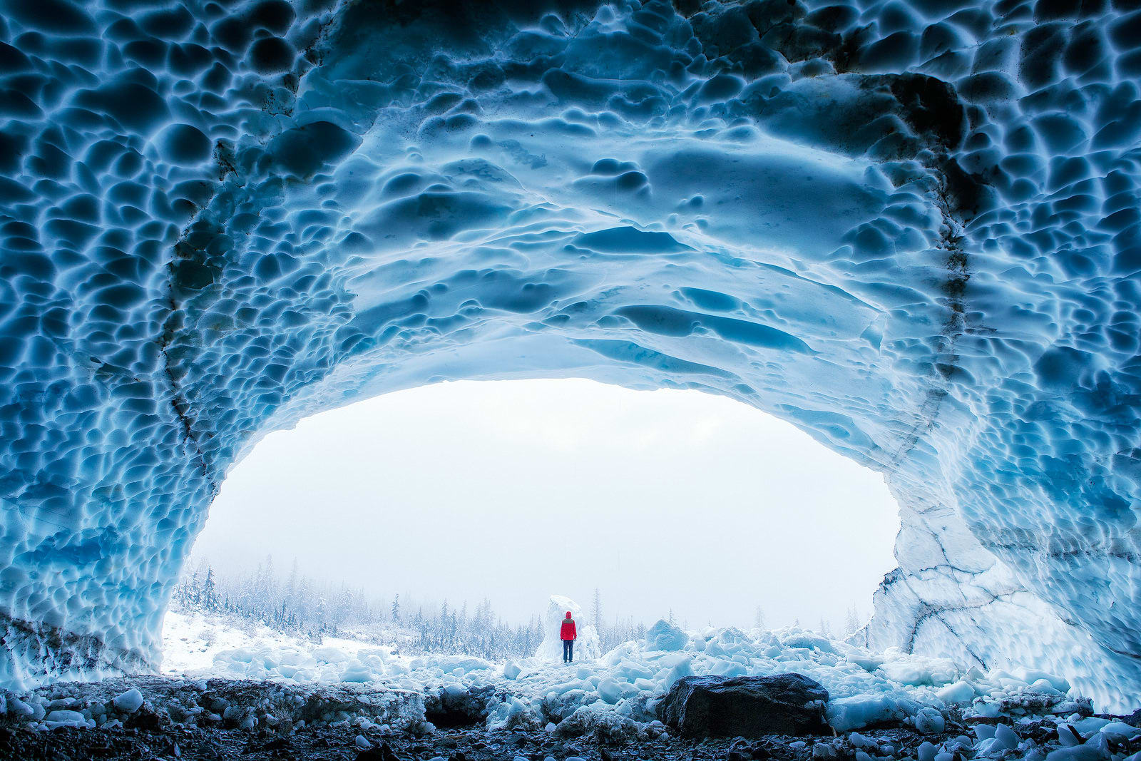 Ice Caves Route Washington