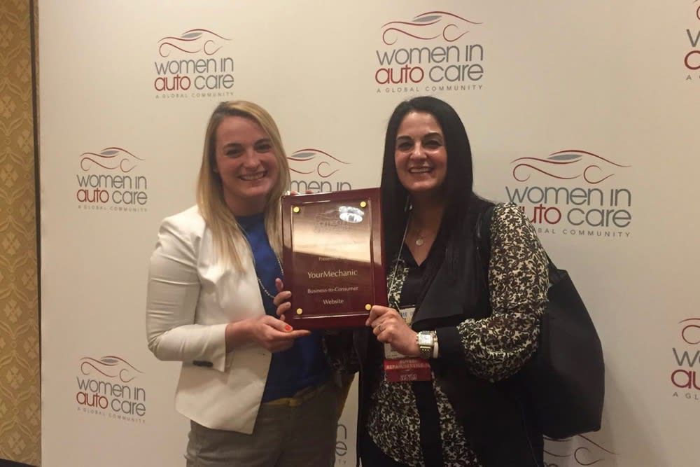 YourMechanic Women in Auto Care Recognition