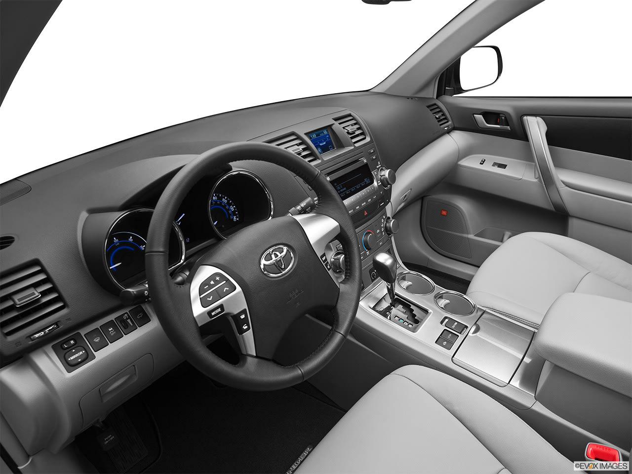 toyota highlander hybrid 2012 interior