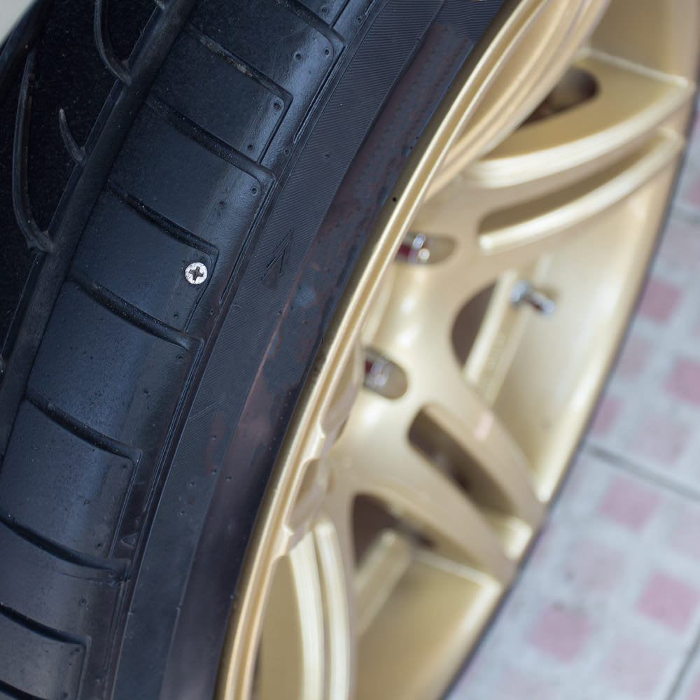 My Tire Has A Nail In It What Should I Do Yourmechanic