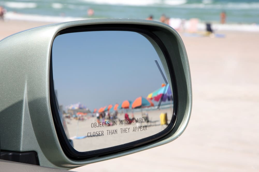 Why Are Objects In The Mirror Closer Than They Appear