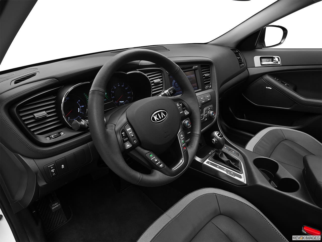 kia optima hybrid 2012 interior