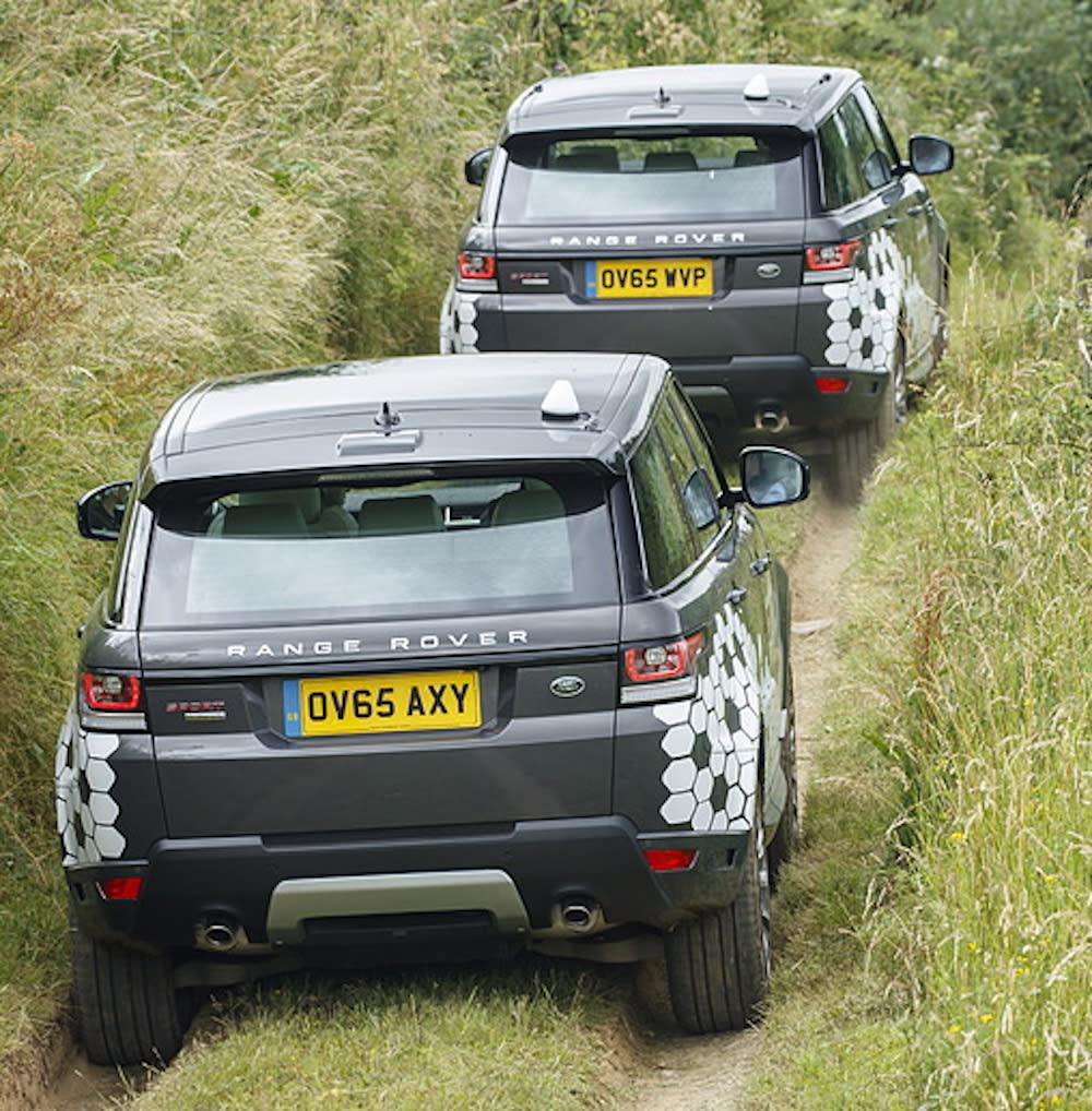 Autonomous Range Rover