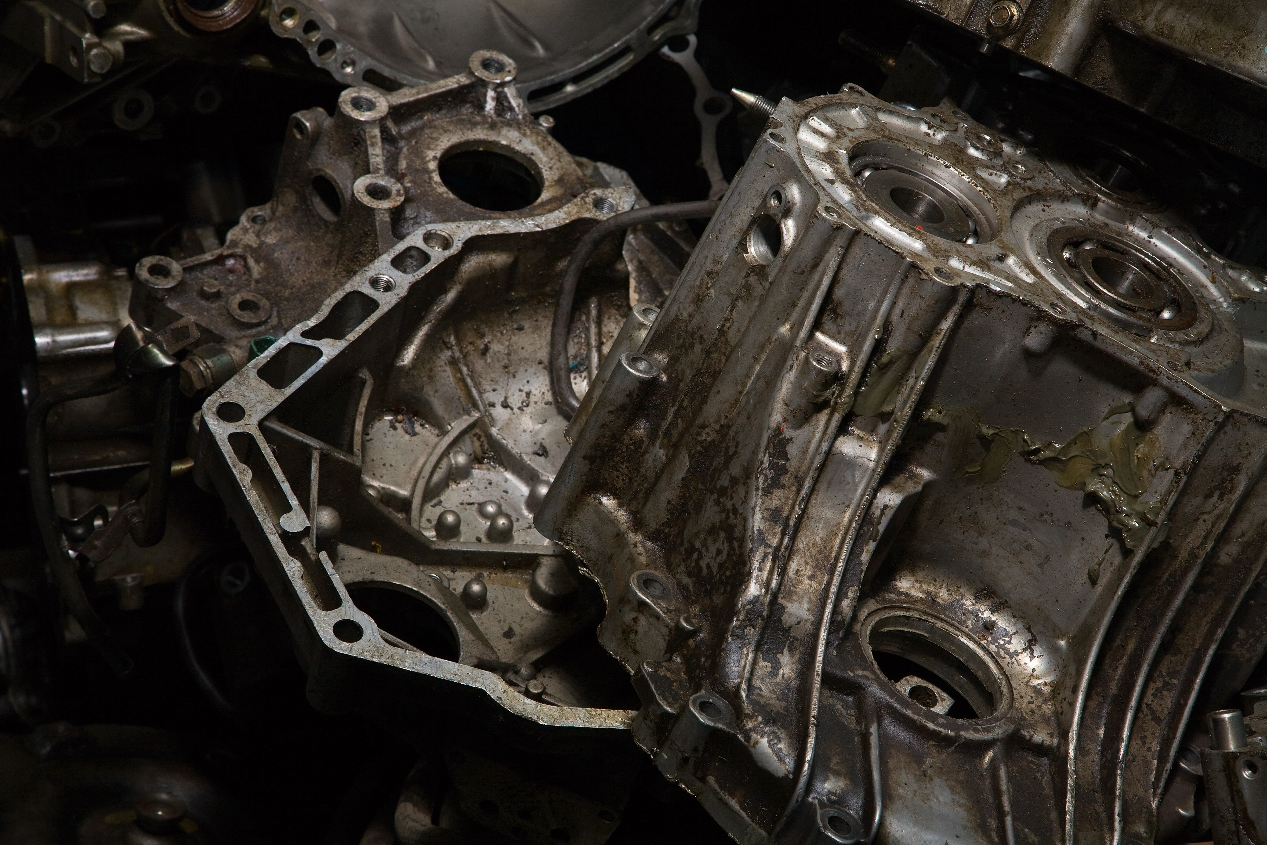 Clogged Car Engine