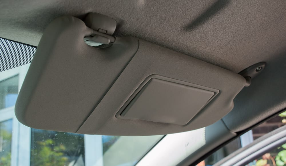 4 Essential Things to Know About Your Car's Sun Visor | YourMechanic Advice