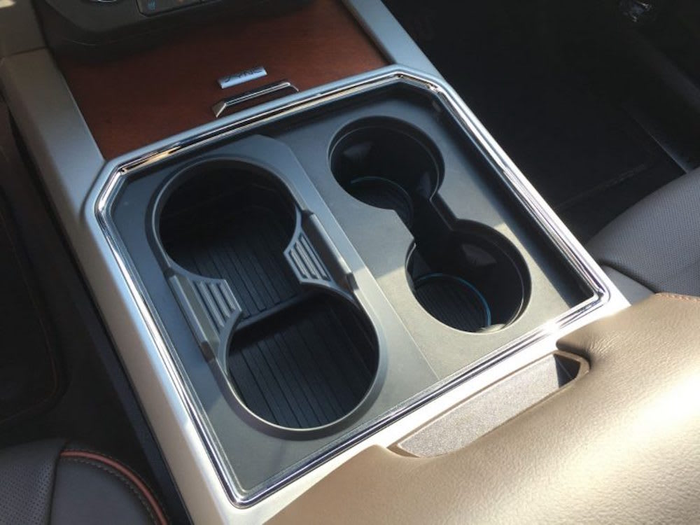 ford super duty cupholders